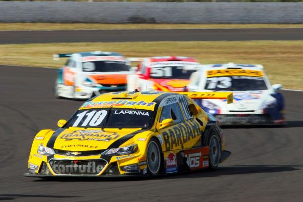 Felipe Lapenna: de 25o para sétimo na corrida 1