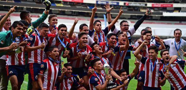 Las Fuerzas Sub-20 de Chivas se proclamaron campeón de la Liga MX Clausura