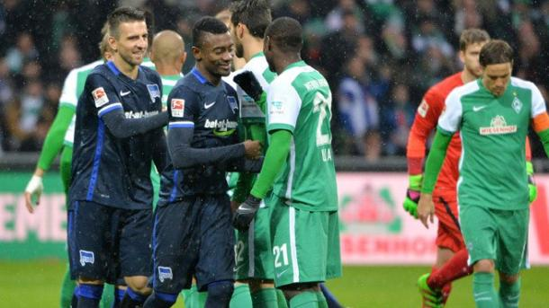 Bremen can learn a lot from Hertha's performance last season. | Photo: Hertha BSC/Rubrik