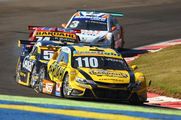 Felipe Lapenna tinha tudo para brigar pelo pódio na corrida 2. (Foto: Wanderley Soares)