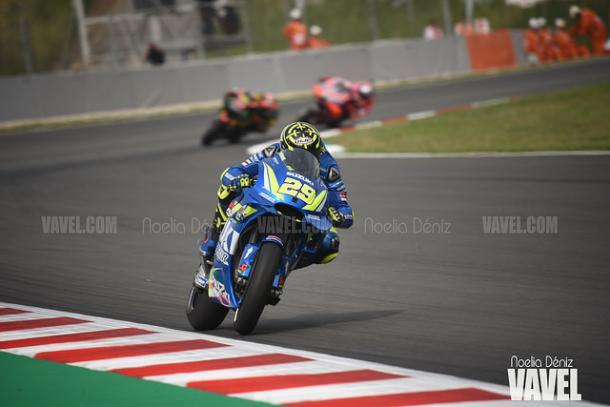 Andrea Iannone en el Circuit de Barcelona - Catalunya.   Foto: Noelia Déniz VAVEL