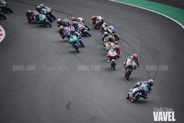 La categoría de Moto3 es la más reñida del campeonato. | Foto: Noelia Déniz VAVEL