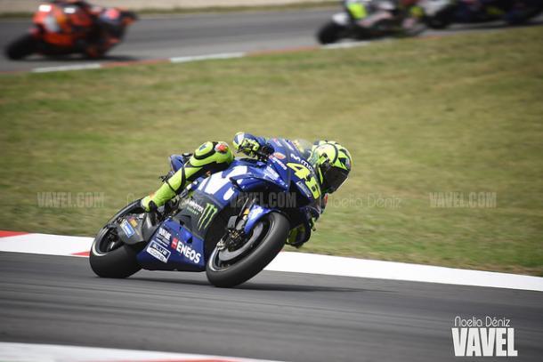 Valentino Rossi, único piloto de Yamaha en los test de Brno | Foto: Noelia Déniz - VAVEL