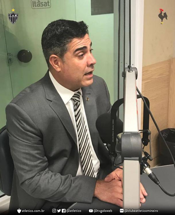 Sérgio Sette Câmara, presidente do Atlético-MG (Foto: Divulgação/Atlético)