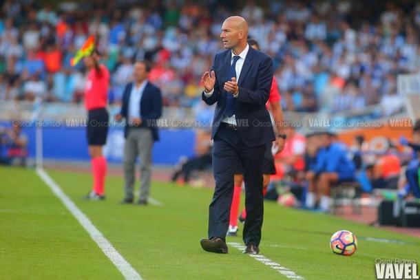 Zidane, en el duelo de la pasada temporada. Foto: Oscsr