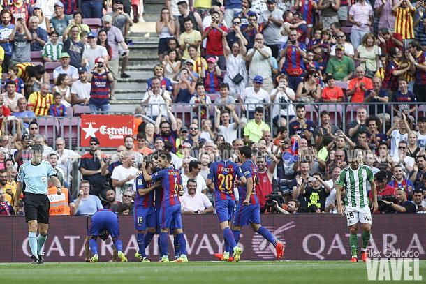 El Barça viene de ganar 6-2 en su primer partido de Liga | Foto: Alex Gallardo - VAVEL