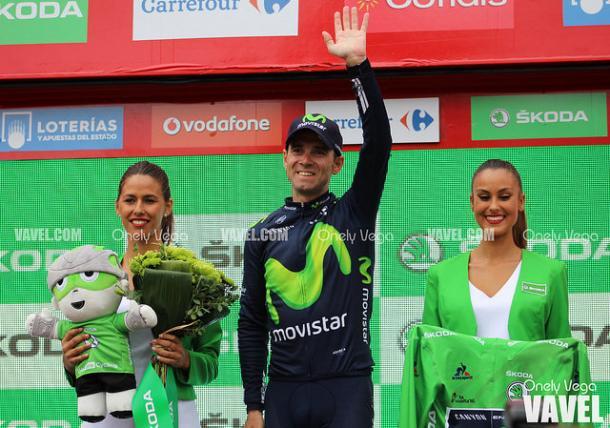 Valverde es baja en la Vuelta tras su caída en el Tour. | Foto: Onely Vega (VAVEL)