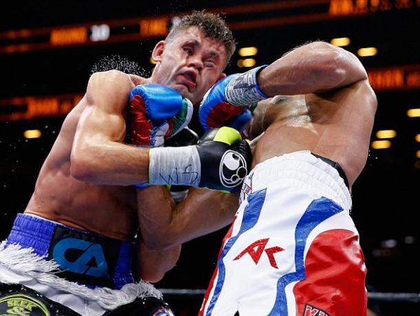 Amir Khan was last in the ring in May 2015 when he went on to a points decision - Chris Algieri | GETTY IMAGES