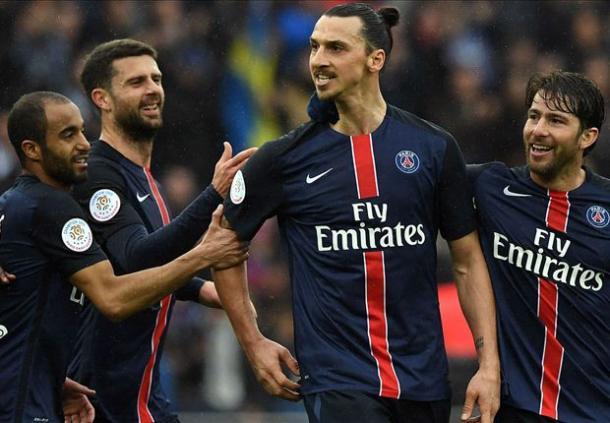 Zlatan Ibrahimovic, protagonista assoluto della stagione del PSG. Fonte: Getty Images.