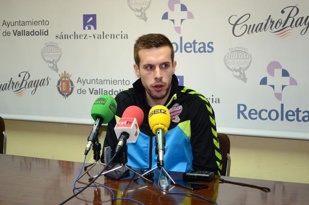Nacho González | Foto: Atlético Valladolid