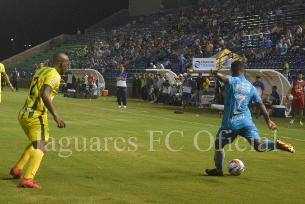 Jaguares frente a Atlético Bucaramanga. Foto: Jaugares FC.