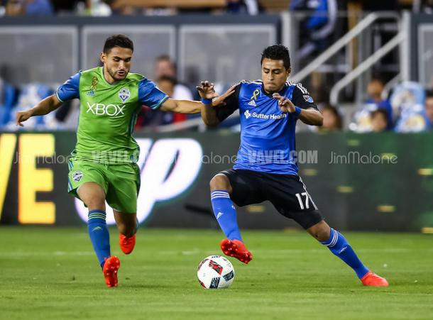 Cristian Roldan has come of age this season for the Sounders | Source: Jim Malone/VAVEL