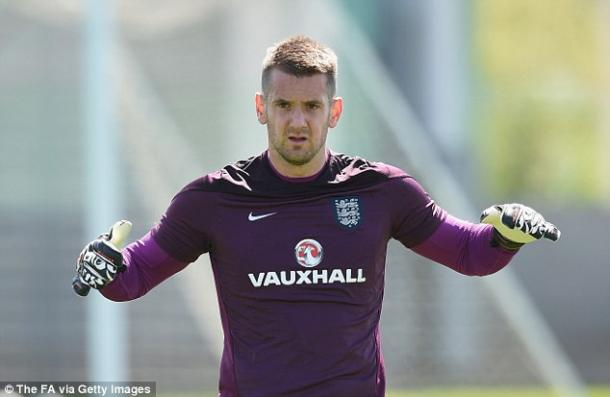 Tom Heaton training with the England | source : Getty images