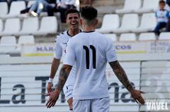 Josán y Héctor celebran el segundo gol | Foto: Angel Chacón VAVEL