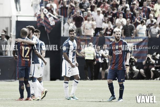 La mayor goleada fue el 1-5 frente al FC Barcelona | Foto: Gema Gil (VAVEL)