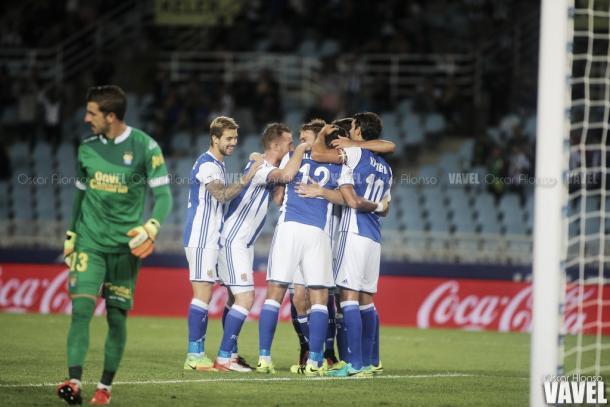 La Real solo jugará liga y Copa esta campaña. | Foto: Óscar Alonso / Vavel