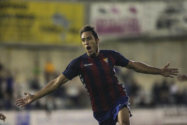 Boris marcó el gol de la jornada ante el Barça B | Foto: CF Gavà