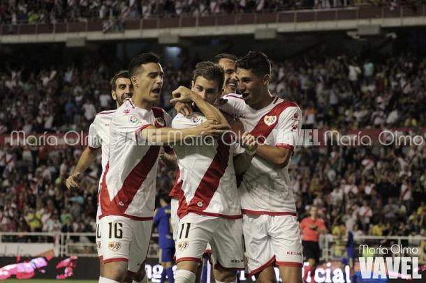 El Rayo vapuleó al Cádiz (3-0) en la primera vuelta | Foto: María Olmo (VAVEL)