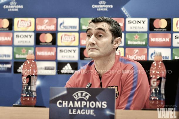 Ernesto Valverde en rueda de prensa | VAVEL