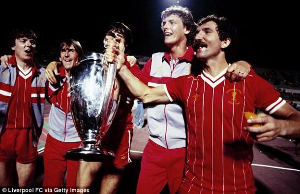 Liverpool levantó una de sus cinco Champions ante la Roma en el mismísimo estadio Olímpico | Foto: LFC vía Getty.