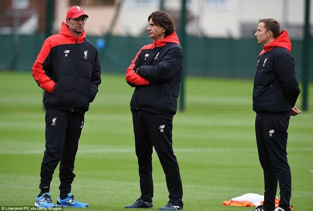Klopp (left) and Buvan (centre) both penned six-year deals (photo: Getty Images)