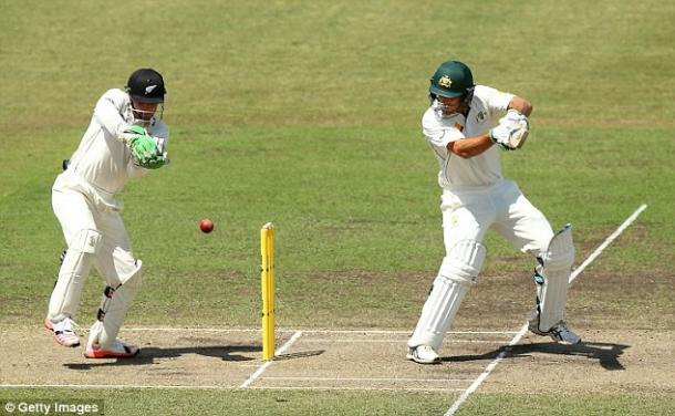 Joe Burns batted for over 7 hours to make 170 against New Zealand (photo: Getty Images)