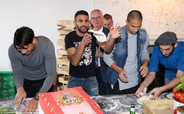 Pizza day en Leicester. Foto: Getty Images