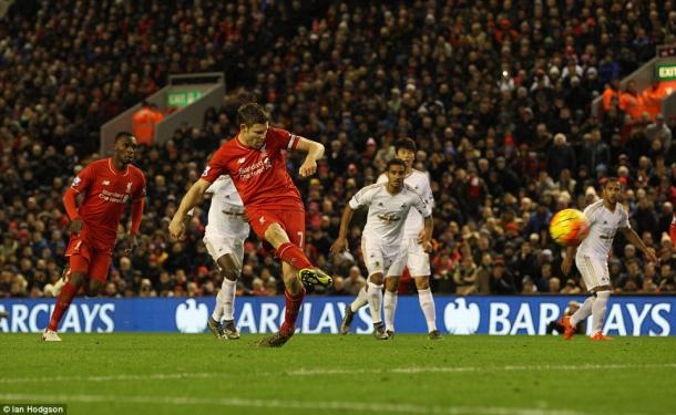James Milner's penalty was the difference on Sunday. (Photo: Ian Hodgson)