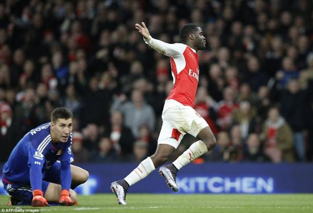Joel Campbell broke the deadlock against the run of play on Saturday. (Photo: Getty)