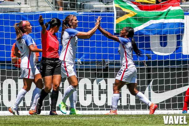 Alex Morgan was on target the last time the two teams met | Source: Gary Duncan-VAVEL