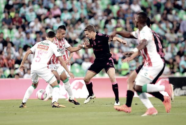 Santos elimina al Necaxa de la Copa MX