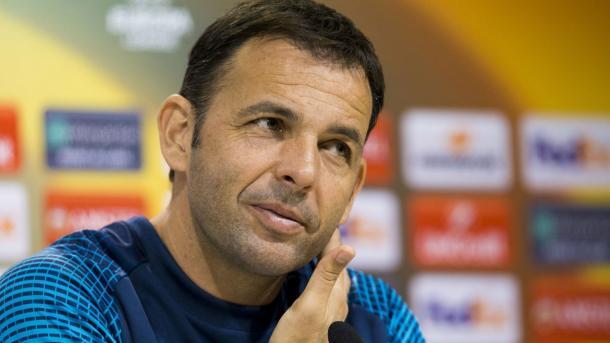 Calleja durante una rueda de prensa | Villarreal CF