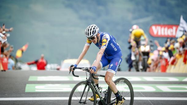 Fue uno de los corredores más combativos en el Tour de Francia | Foto: BrakeThrough Media
