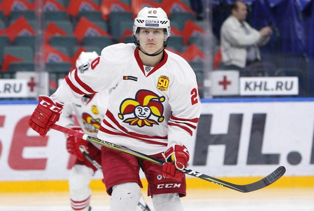 Tolvanen en el Jokerit (NHL.NBCSPORTS.COM)