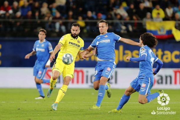 Último partido entre el Villarreal vs Getafe / Foto: LaLiga