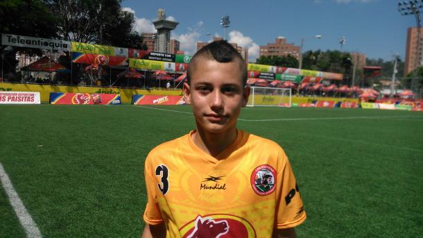 Jeferson Cardona, goleador de Dosquebradas. | Foto: Juancho Serrano VAVEL