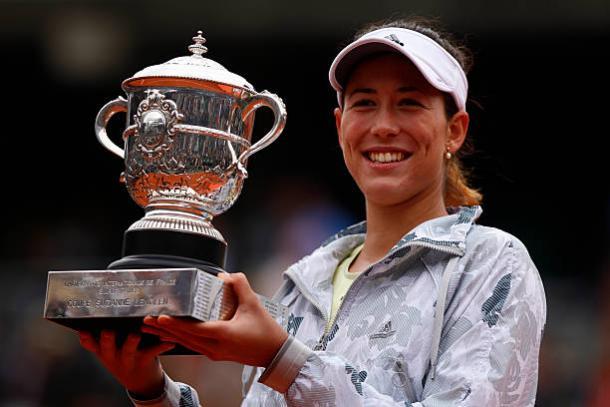 Muguruza, 2016 French Open women's singles winner. Photo: NurPhoto