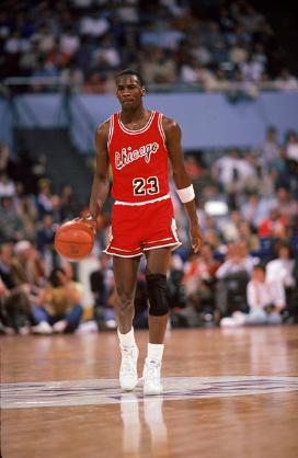 Michael Jordan en su año de Rookie | Foto: Getty Images