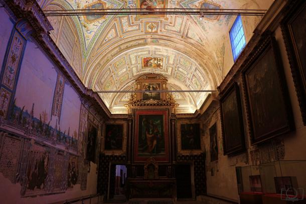 Sala Capitular Monasterio San Isidoro del Campo.     Fuente: Fran Rodgue