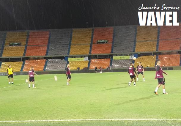 Con Diego Lugano y Jonathan Calleri como sus referentes, Sao Paulo viajó a Medellín. | Foto: VAVEL Colombia