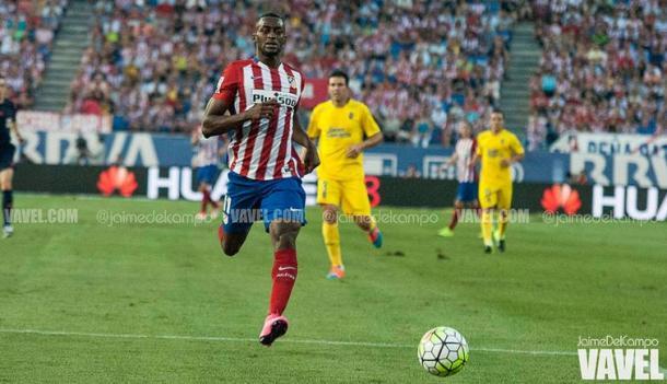 Jackson debutó en Liga BBVA contra Las Palmas | Imagen: Jaime del Campo (VAVEL)