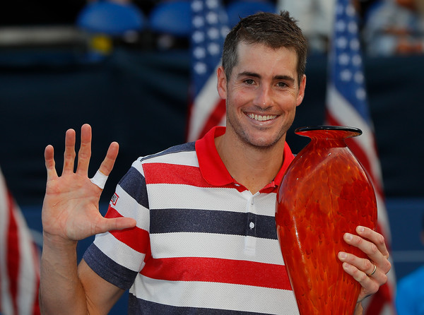 John Isner scored a fifth title in six years at the Atlanta Open this week. Photo: Kevin C. Cox/Getty Images