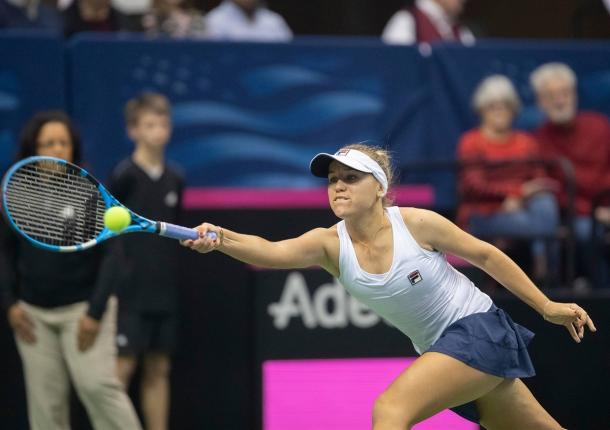 Sofia Kenin is back in her first event after winning her maiden Major title | Photo: Susan Mullane