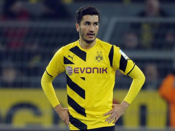 Nuri Sahin playing for Borussia Dortmund last season (Photo: Getty Images)