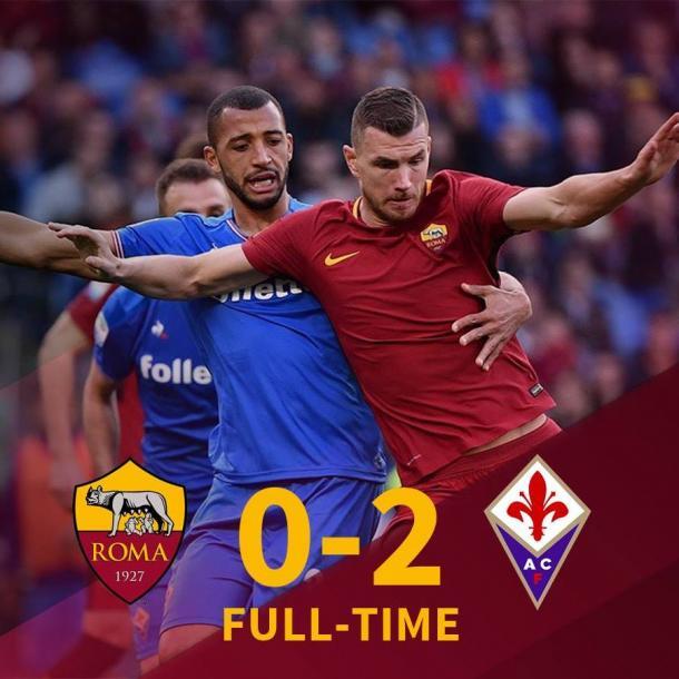 Roma 0-2 Fiorentina / Foto: Roma