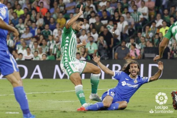 Barragán junto a Cucurella | Fotografía: La Liga