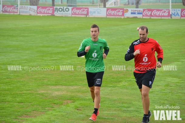 Markovic durante el entrenamiento del miércoles   Foto: Jose Luis Pedraza (VAVEL.com)
