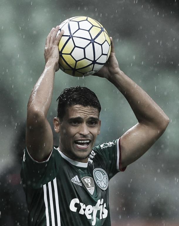 Jean no jogo contra o Internacional (Foto: Reprodução / Palmeiras)