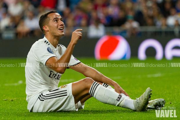 Lucas Vázquez en Champions con el Madrid | Foto: VAVEL