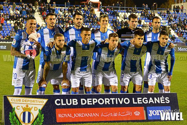 Once inicial del Leganés / Foto: VAVEL